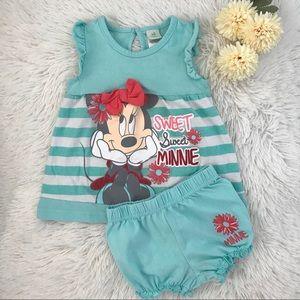 🎠🧸 Disney Baby Shirt & Short 🧸🎠